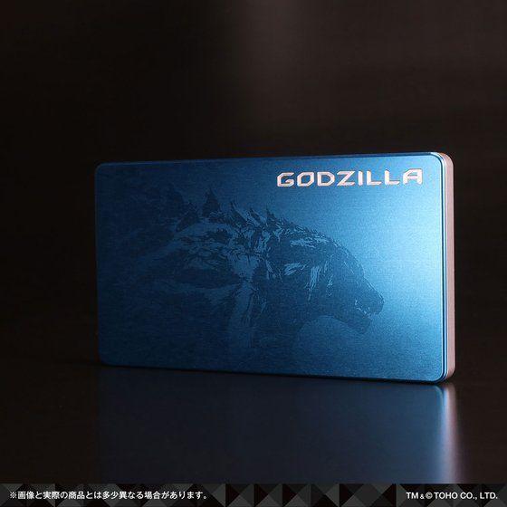 ゴジラ GILD design ジュラルミン削り出し名刺入れ