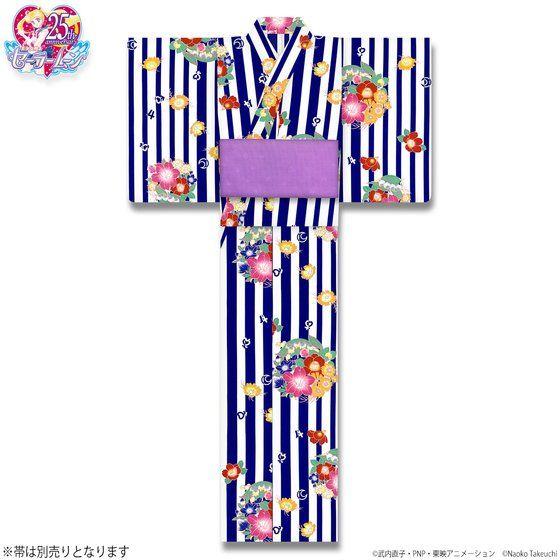 美少女戦士セーラームーン 浴衣 セーラー5戦士柄(全2色)
