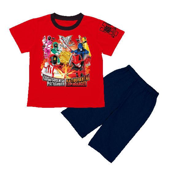 快盗戦隊ルパンレンジャーVS警察戦隊パトレンジャー オリジナルソフビ付きパジャマ