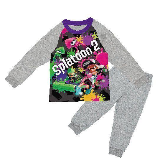 スプラトゥーン2 ダンボールニットパジャマ