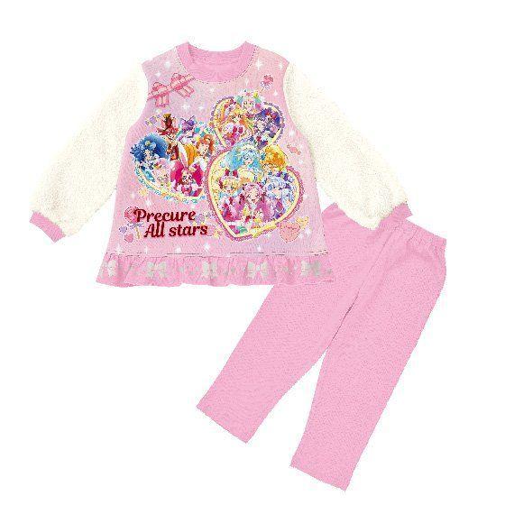 プリキュアオールスターズ 寝ても覚めても光るパジャマ
