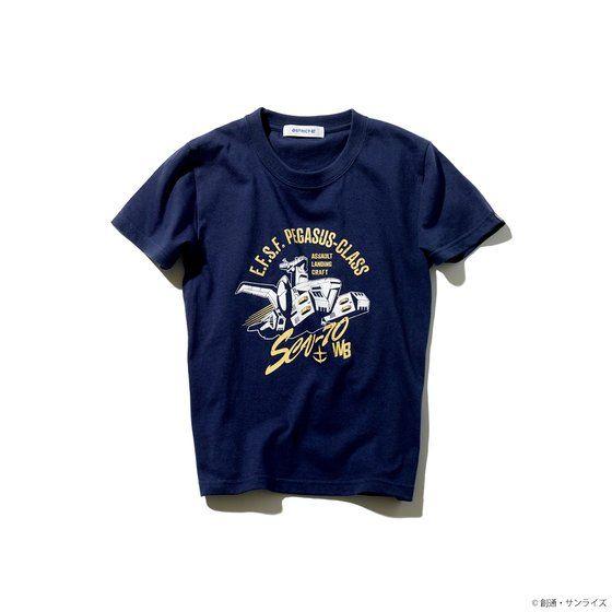 STRICT-G『機動戦士ガンダム』 キッズTシャツ ホワイトベース柄 / 110