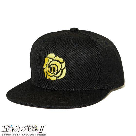 五等分の花嫁∬×HTML ZERO3 Sister Rose Baseball Cap / 一花