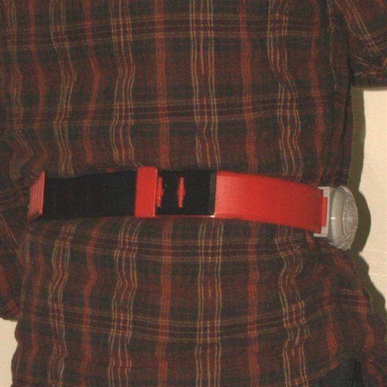 レジェンドライダーシリーズ 変身ベルト 仮面ライダーアギト(別売り)を装着斜め背面
