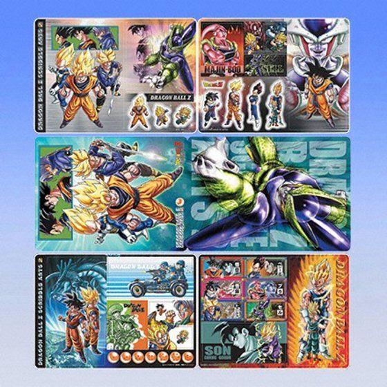 ジャンボカードダスWDX ドラゴンボールZ SCRIBBLE ARTS 2