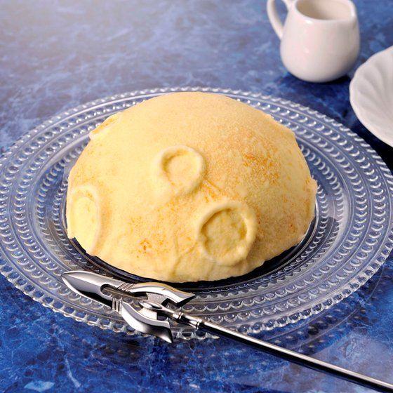 月面ケーキ