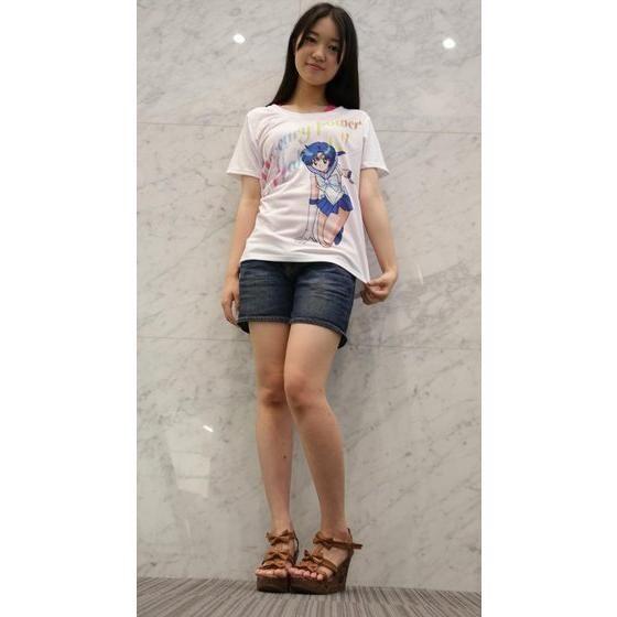 美少女戦士セーラームーン Full color print Tシャツ セーラーマーキュリー