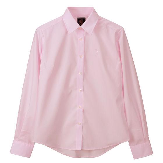 ブロードシャツベーシック ピンク(ペールピンク)