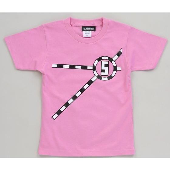 烈車戦隊トッキュウジャー トッキュウ5号Tシャツ(KIDSサイズ)