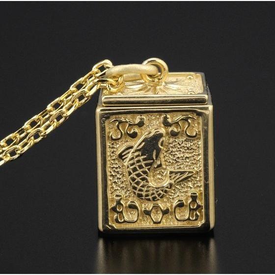 【受注生産】聖闘士星矢 黄金聖衣箱(ゴールドクロスボックス)デザインペンダント 魚座(ピスケス)