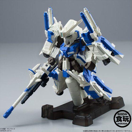 FW GUNDAM CONVERGE EX04 ハミングバード(Ver.BLUE) 【MSZ-006C1[Bst] ZプラスC1型】