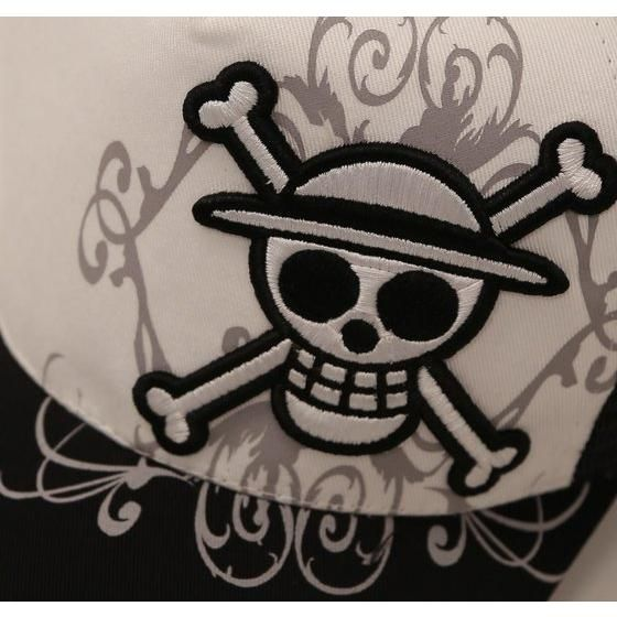 ワンピース メッシュキャップ 麦わら海賊団柄