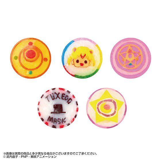 シュクレ キャラクテル SWEET MOON sailormoon candy MAKEUP MIX(5個入)