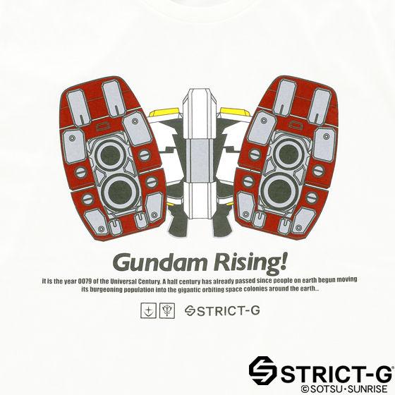 STRICT-G エピソード柄Tシャツ セレクト 第1話 「ガンダム大地に立つ」