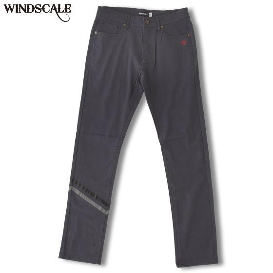 【新カラー】仮面ライダーW WIND SCALE 裾ライン パンツ チャコールグレー