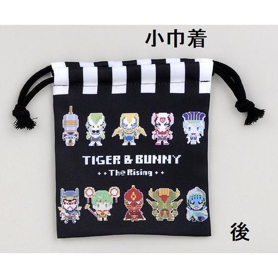劇場版TIGER & BUNNY -The Rising- ドットビット 巾着3点セット パネル柄