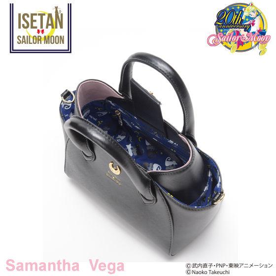 【Samantha Vegaコラボ】美少女戦士セーラームーン ルナ/アルテミスフェイクレザートートバッグ 小