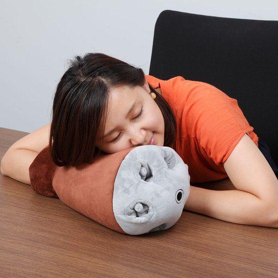 ひとやすみ腕枕(アームピロー)クッションアッガイ