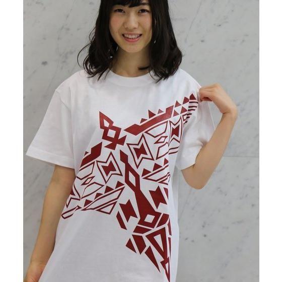 動物戦隊ジュウオウジャー ジュウオウイーグル/風切大和 半袖Tシャツ イーグル柄(ホワイト)