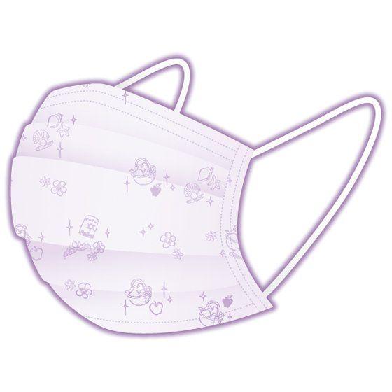 ディズニープリンセス メイクがつきにくい不織布マスク