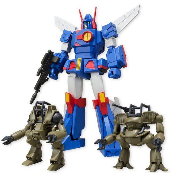 スーパーミニプラ 戦闘メカ ザブングル(カラーA)(4個入)