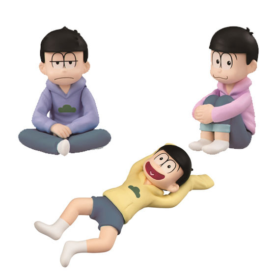 【抽選販売】パルメイトぷち おそ松さん ちゃぶ台集合!セット