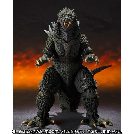 【抽選販売】S.H.MonsterArts ゴジラ2000ミレニアム Special Color Ver.