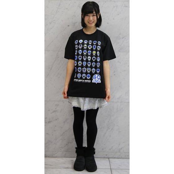 スーパー戦隊シリーズ40作品記念 歴代ブルー フェイスTシャツ(S〜XXXL)