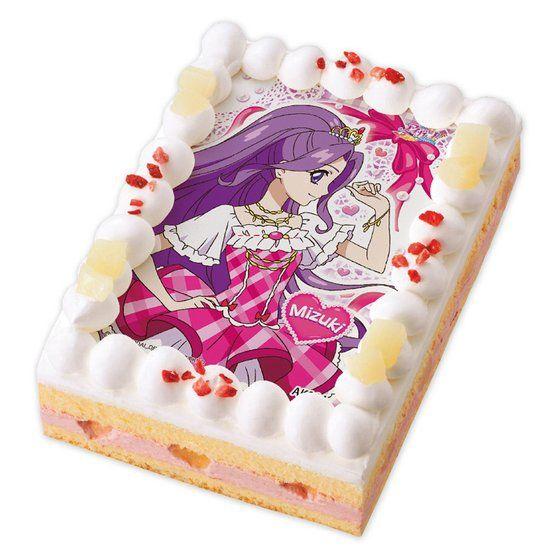 キャラデコプリントケーキ アイカツ! 神崎美月