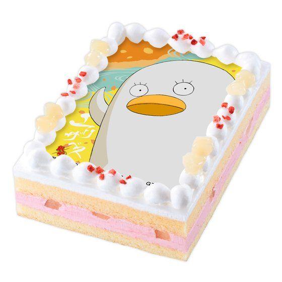 キャラデコプリントケーキ 銀魂 エリザベス