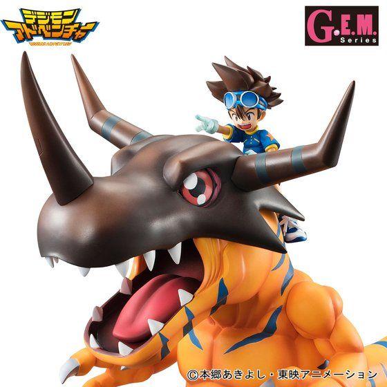 G.E.M.シリーズ デジモンアドベンチャー グレイモン&八神太一