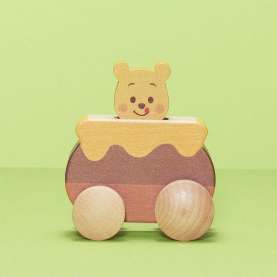 Disney KIDEA PUSH CAR<くまのプーさん>