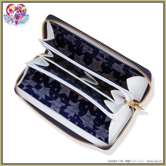 美少女戦士セーラームーン セーラースターライツ レザーラウンド財布