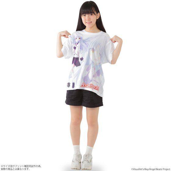 Angel Beats! フルパネルTシャツ