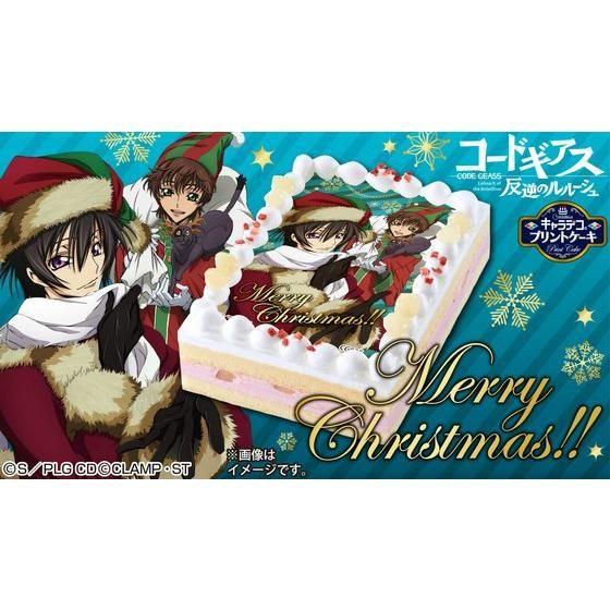 [キャラデコプリントケーキ クリスマス]コードギアス 反逆のルルーシュ