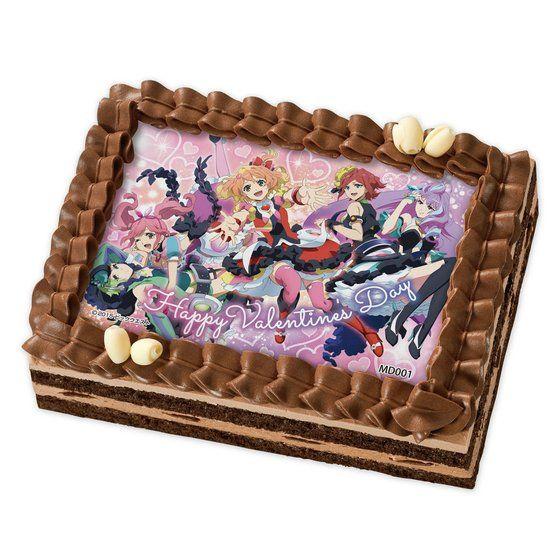 [キャラデコプリントケーキ バレンタイン]マクロスΔ 劇場版公開記念!ワルキューレより愛をこめて