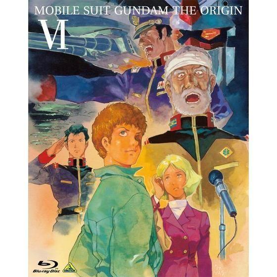 機動戦士ガンダム THE ORIGIN VI 誕生 赤い彗星 Blu-ray Disc【Collector's Edition】