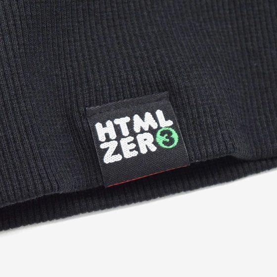 ソードアート・オンライン×墨絵師「御歌頭」×HTML ZERO3 Black Blast Zip Parka (ジップパーカー キリト)
