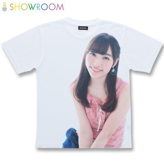 SHOWROOMコラボレーション フルパネルTシャツ 刈谷砂織