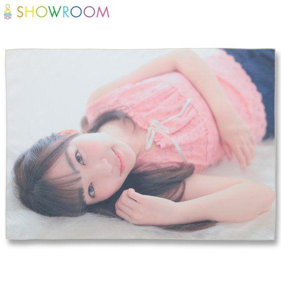 SHOWROOMコラボレーション B2フルカラータオル 刈谷砂織