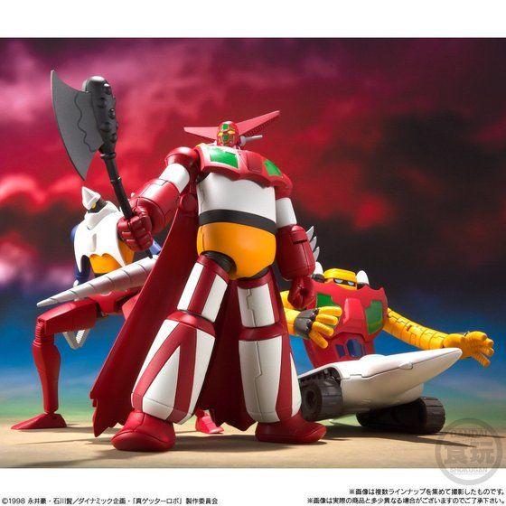 スーパーミニプラ 真(チェンジ!!)ゲッターロボ Vol.1(3個入)