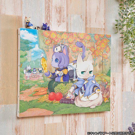 機動戦士ガンダム鉄血のオルフェンズ 3丁目のおるふぇんちゅ キャンバスアート 3(にゃん)
