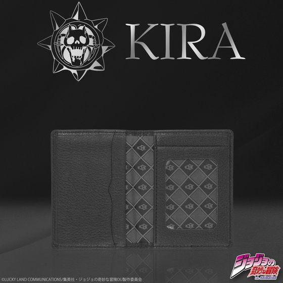 吉良吉影 KIRA's レザーパスケース