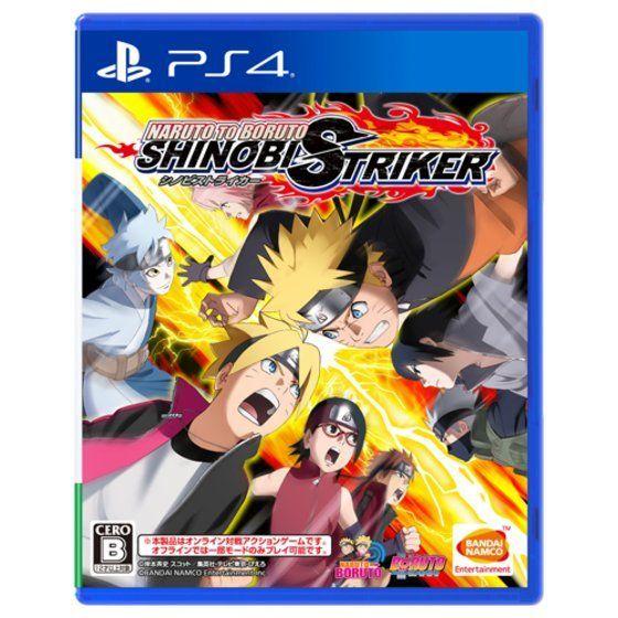 PS4 NARUTO TO BORUTO シノビストライカー