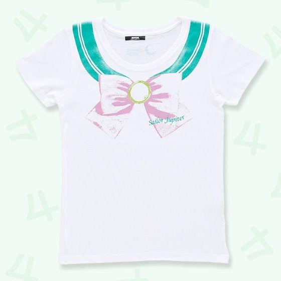 美少女戦士セーラームーン なりきりセーラーTシャツ(セーラージュピター柄)
