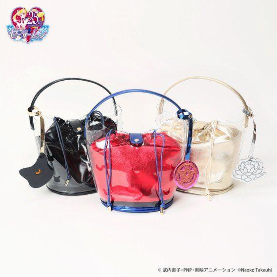 【キャセリーニコラボ】美少女戦士セーラームーンクリアバケットバッグ