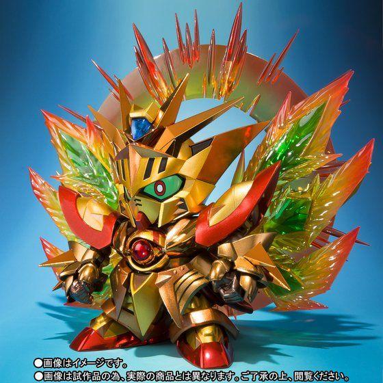 SDX 太陽騎士ゴッドガンダム 明鏡止水ゴールドバージョン
