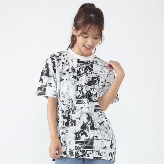 永井豪 画業50周年 漫画柄Tシャツ キューティーハニー