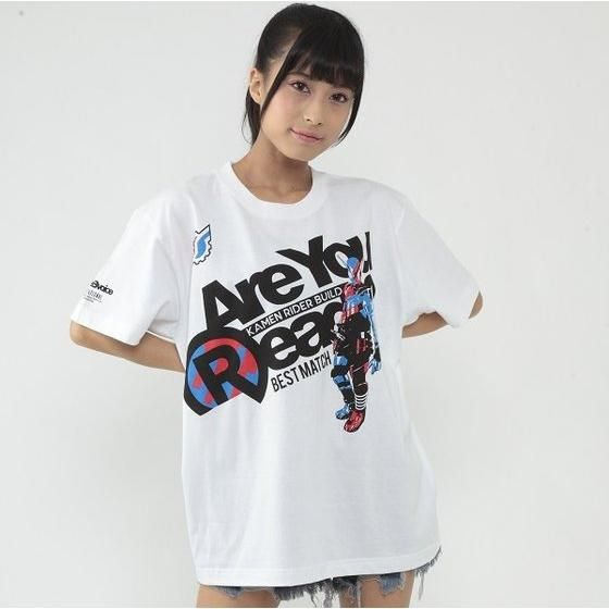 仮面ライダービルド×RealBvoice Best Match柄Tシャツ