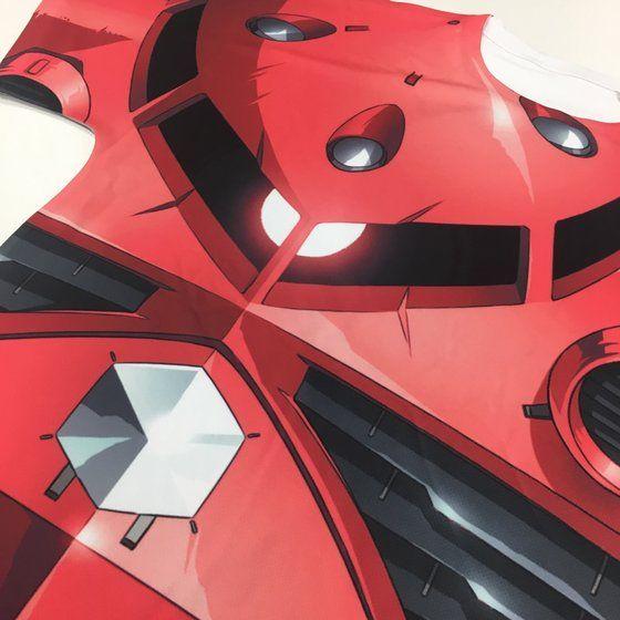 機動戦士ガンダム フルパネルTシャツ MSM-07S シャア専用ズゴック 【2018年11月発送】